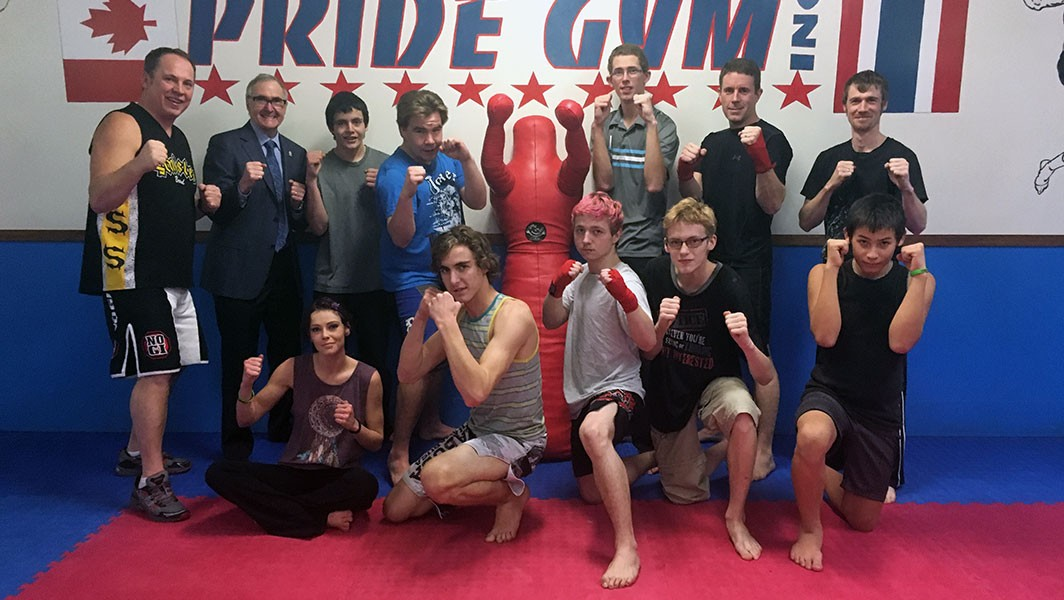 KCLC Students Work Out With Pride