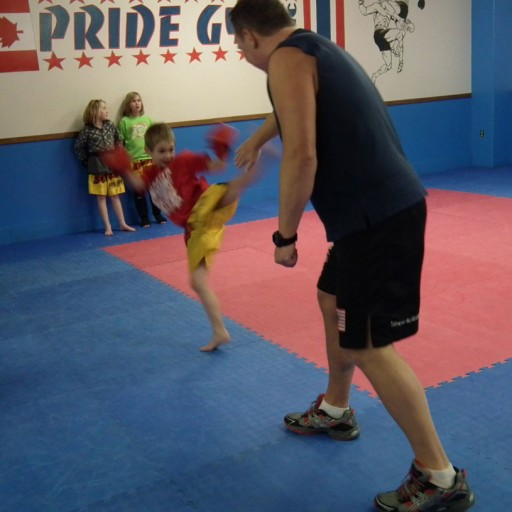 Pride Gym Kids Muay Thai Kickboxing