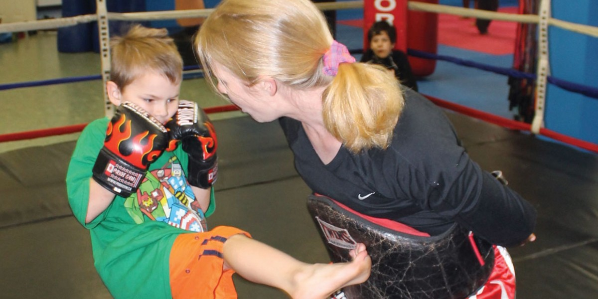 Pride Gym Kids Muay Thai kickboxing 2