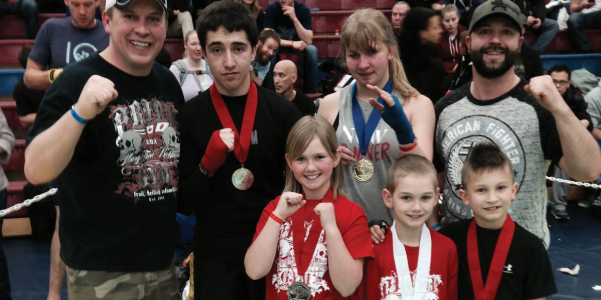 Pride Gym Kids Muay Thai kickboxing 3