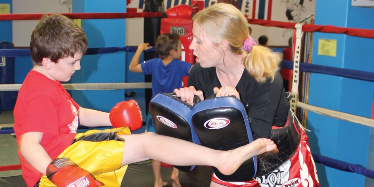 Pride Gym Youth Muay Thai Kickboxing 4