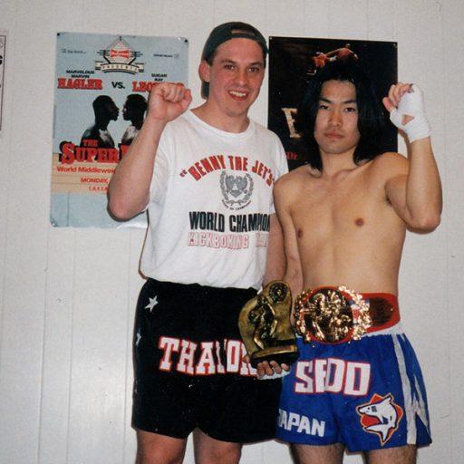 Yuki Tatsuno and Glen Kalesniko